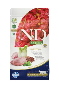 N&D Quinoa CAT Digestion Lamb & Fennel 1,5kg