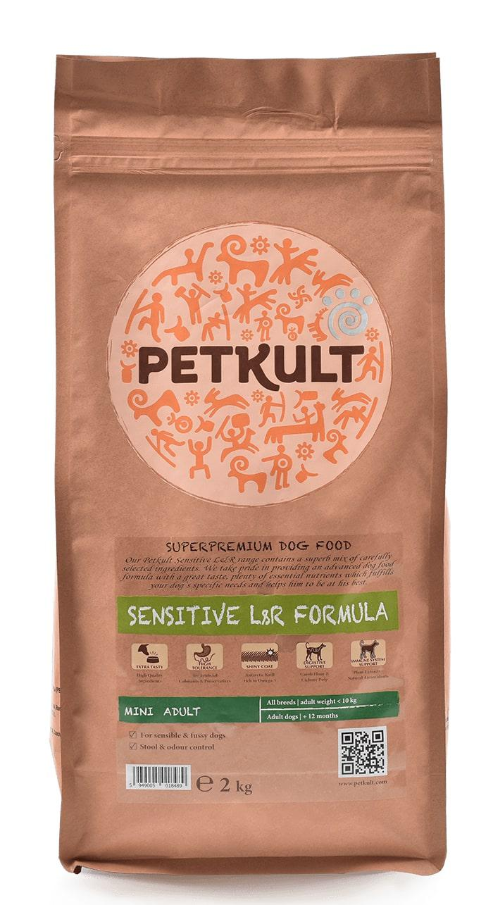 PETKULT dog MINI ADULT lamb/rice 12kg