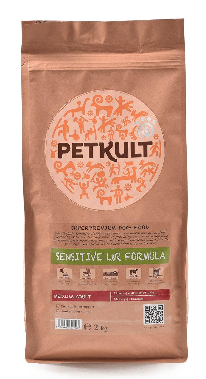 PETKULT dog MEDIUM ADULT lamb/rice