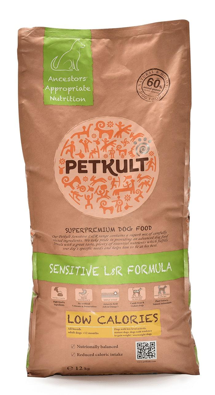 PETKULT dog LOW CALORIES lamb 12kg