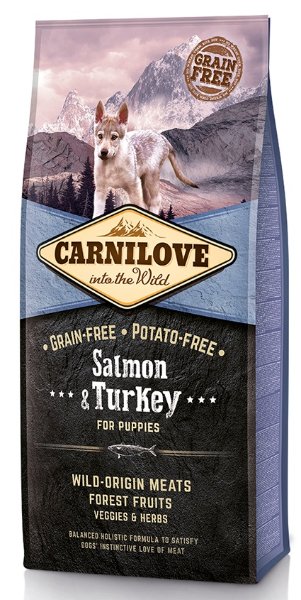 CARNILOVE PUPPIES SALMON/turkey