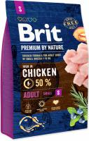 BRIT dog Premium By Nature ADULT S