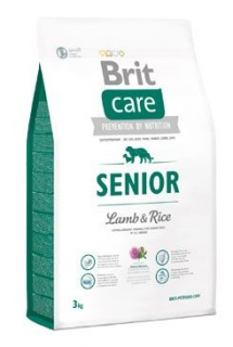 Brit Care Dog Senior Lamb & Rice 3kg