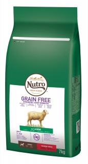 NUTRO grain free ADULT small lamb 7kg