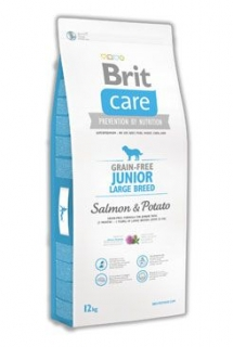 Brit Care Dog Grain-free Junior LB Salmon & Potato12kg