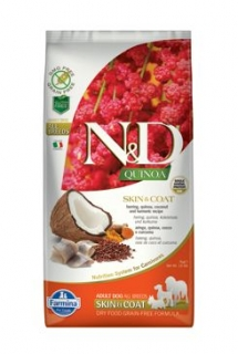 N&D Quinoa DOG Skin & Coat Herring & Coconut 7kg