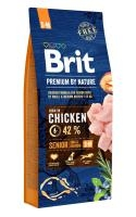 BRIT dog Premium By Nature SENIOR S+M