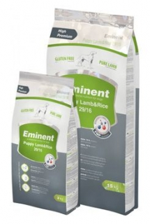 Eminent Dog Puppy Lamb&Rice 15kg