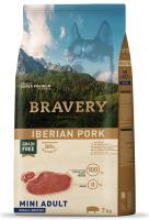 BRAVERY dog ADULT mini IBERIAN PORK